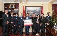Doanh nghiệp Việt Nam trao tặng 2 triệu khẩu trang y tế hỗ trợ phòng, chống đại dịch Covid-19 cho các nước Trung Đông, Châu Phi