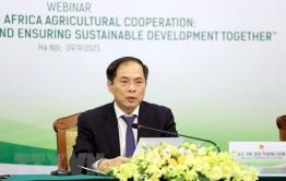 Tăng cường kết nối, hợp tác nông nghiệp Việt Nam - châu Phi