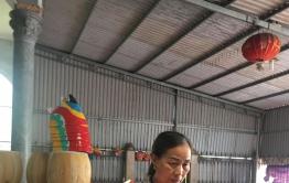 Rộn ràng làng nghề làm đồ chơi Trung thu truyền thống